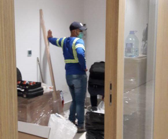 Trabajos de nuevas oficinas The Panama Clinic
